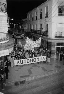 Imagen completa de la manifestación. CUSO
