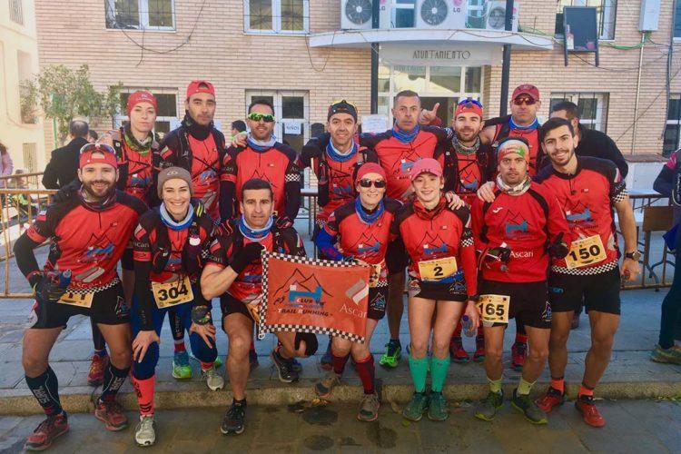 Club Ascari-Harman Trail Running logra tres medallas en la CxM de Faraján