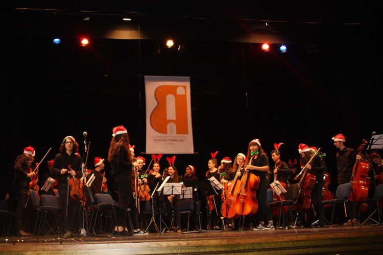 El Conservatorio de Música 'Ramón Corrales' ofreció su tradicional Concierto de Navidad