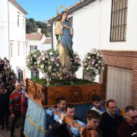 Faraján cerró sus fiestas en honor de La Inmaculada con la participación de numerosos vecinos y visitantes