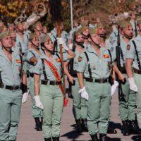 La Legión de Ronda celebra con toda clase de honores el día de la Patrona del Arma de Infantería, la Inmaculada Concepción