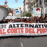 La nueva ejecutiva del PSOE no mantiene ninguna posición oficial sobre la segunda manifestación contra el corte del Puente Nuevo
