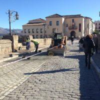La manifestación contra el corte del Puente Nuevo se fijará una vez que llegue la autorización de la Subdelegación del Gobierno
