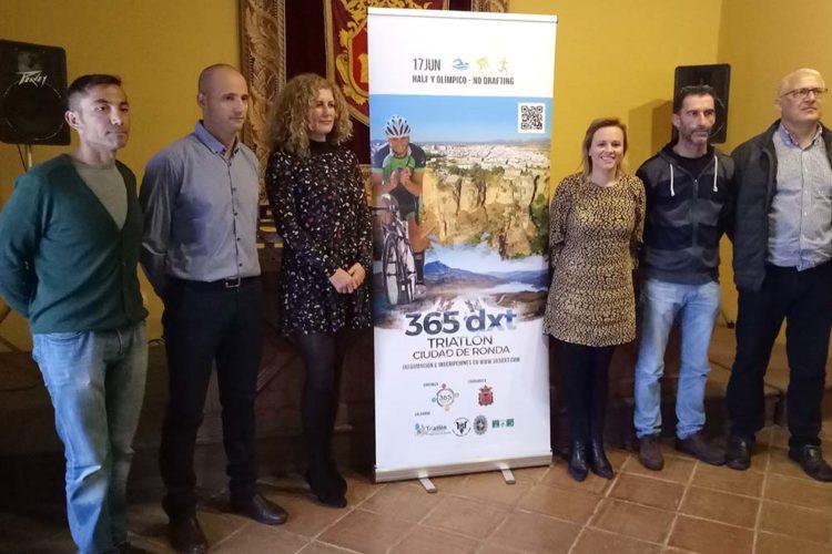 Presentan y abren el plazo de inscripciones para el 'Triatlón Ciudad de Ronda'
