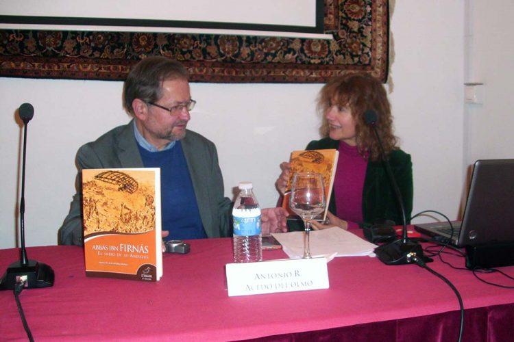 El escritor Antonio R. Acedo del Olmo ofrece una conferencia sobre el sabio rondeño Abbás Ibn Firnás en Córdoba