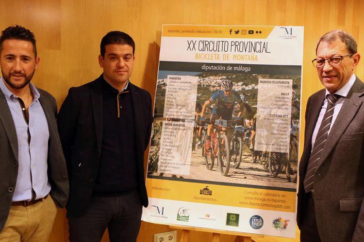 El domingo arranca en Ronda el XX Circuito Provincial MTB de la Diputación de Málaga con la VI maratón Acinipo
