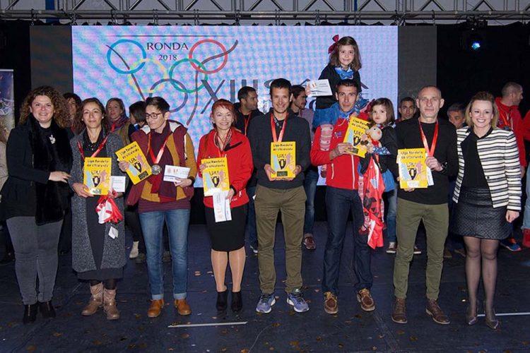 Ronda reconoció a los deportistas, entidades y clubes más destacados en la tradicional Gala del Deporte