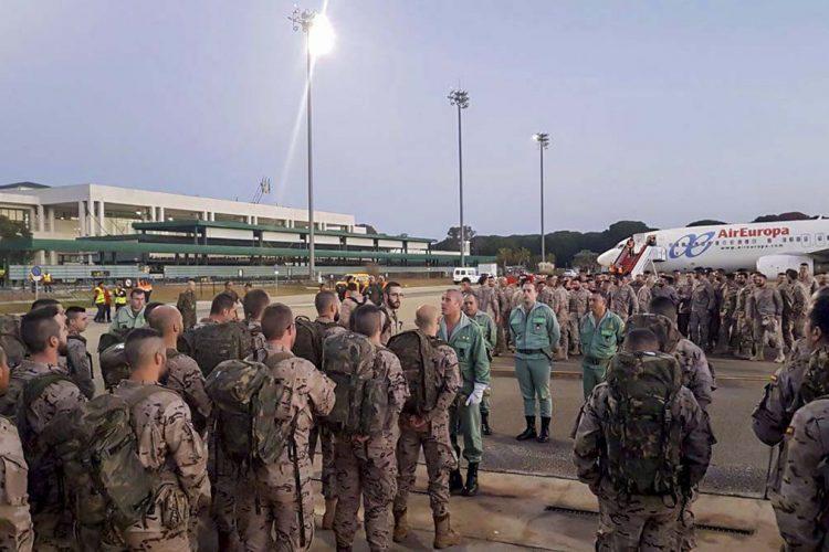 La Legión envía un nuevo contingente a Mali formado por 60 efectivos de Ronda y de Almería