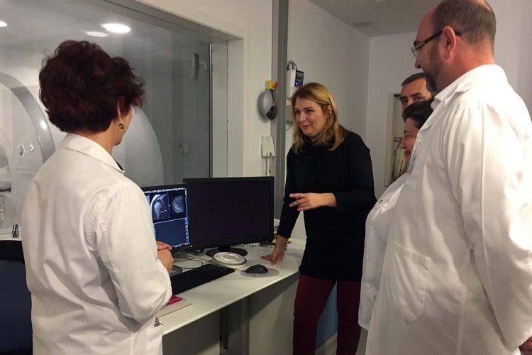 Entra en funcionamiento la resonancia nuclear magnética en el Hospital