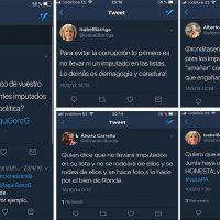 Carreño (IU), Barriga (PA) y Orozco (PSOE), quienes no hace mucho pedían la dimisión de los imputados, no dicen lo mismo tras ser investigada Valdenebro por el 'caso boda'