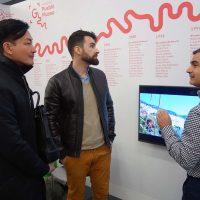 Genalguacil, el pueblo museo, participa en la Feria de Arte Emergente de Madrid 'JustMad'