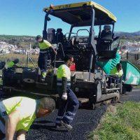 Arriate inicia un plan de asfaltado que a lo largo del año contará con una inversión total de más de 168.000 euros