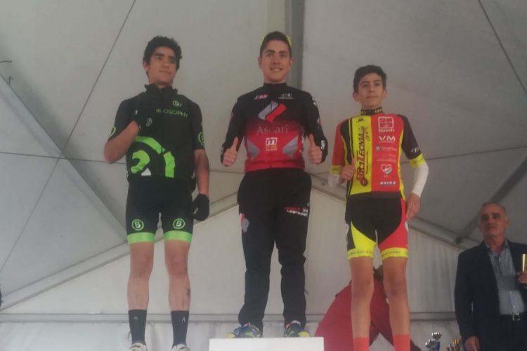 El rondeño Adrían Díaz se proclamó vencedor en el Trofeo de Apertura de Málaga de Bicicleta de Montaña en la categoría cadete