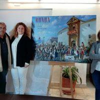 Una conocida pintura de Eulogio Rosas es elegida para el cartel de Ronda Romántica que pregonará el profesor y artista José María Tornay