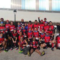 Deportistas del Club Harman Trail Running corrieron el fin de semana en Barcelona, Marbella y Montejaque