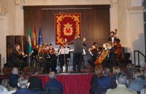 Actuación de la orquesta Camerata Málaga.