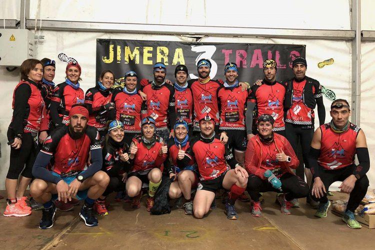 Veinticinco deportistas del Club Harman Trail Running han participado este fin de semana en las pruebas del 'Jimera Tres Trail'