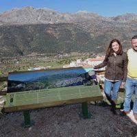 La Diputación mejora las etapas de la Gran Senda por Jimera de Líbar con un observatorio de aves