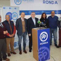 El PP anuncia que la declaración de la Sierra de las Nieves como Parque Nacional supondrá la llegada de millones de euros