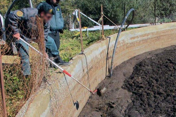 Podemos denuncia ante la Consejería de Agricultura el vertido de purines contaminantes sobre un acuífero de Arriate