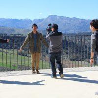 La televisión de Corea del Sur graba un programa en Ronda sobre su oferta turística y cultural