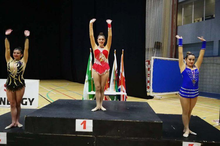 Los clubes de gimnasia rítmica AGRA de Ronda y el de Arriate logran numerosas medallas en el Torneo Al-Áldalus