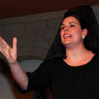 La cantaora María Ángeles Cruzado fue la ganadora del XXIX Concurso de Saetas de Ronda