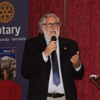 El escritor Andrés Cárdenas ofreció una interesante conferencia sobre la Guerra de la Independencia y el bandolerismo en la Serranía