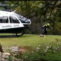 Rescatan a los dos barranquistas que habían desaparecido en la Garganta Verde de Zahara de la Sierra