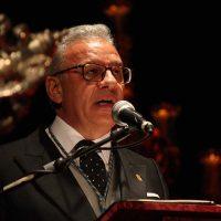 Gran pregón del cofrade Manuel Gazaba para iniciar la Semana de Pasión en Ronda
