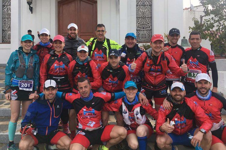 El Club Ascari-Harman Trail Running participó en la CxM XII Pilares de Montecorto logrando diferentes podios