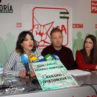 Presentan la nueva ejecutiva de Juventudes Socialistas de Ronda tras su reciente constitución