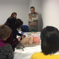 Profesionales del Área Sanitaria Serranía participan en un curso de formación de Soporte Vital Inmediato