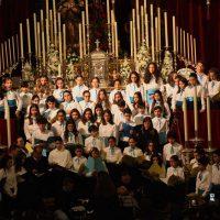 El Conservatorio acerca la música y las voces de la Pasión con el X Concierto Sacro que se ha celebrado en Santa María