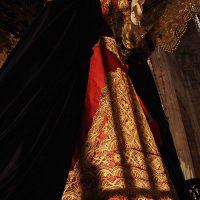 María Santísima de La Amargura lucirá el Domingo de Ramos una saya hecha con el traje de luces de Curro Romero cedida por la Hermandad de los Gitanos de Sevilla