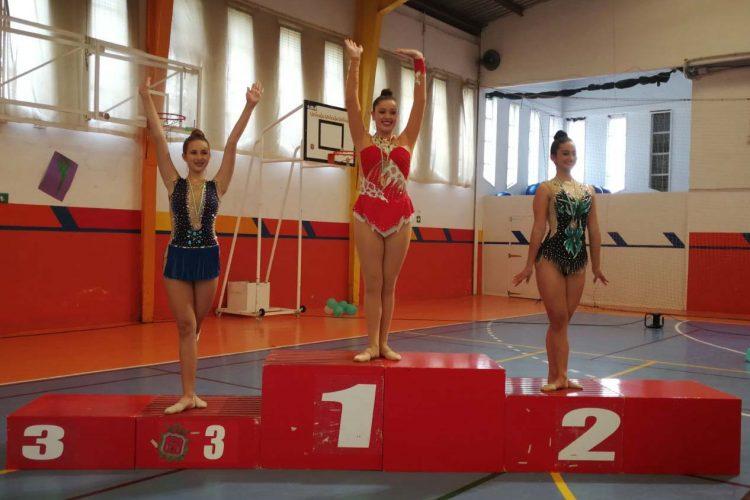 Las gimnastas del Club AGRA vuelven a obtener medallas en dos competiciones andaluzas