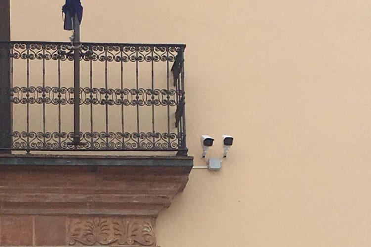 Las cámaras de videovigilancia del Puente Nuevo pusieron en los cinco meses que estuvieron funcionando un total de 18.139 multas