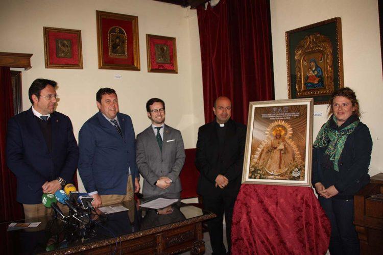 La Hermandad de la Virgen de la Paz, Patrona de Ronda, presenta el cartel de este año