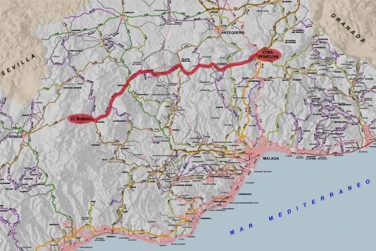 La Diputación estudia crear un eje de carreteras provinciales entre Las Pedrizas y la Sierra de las Nieves