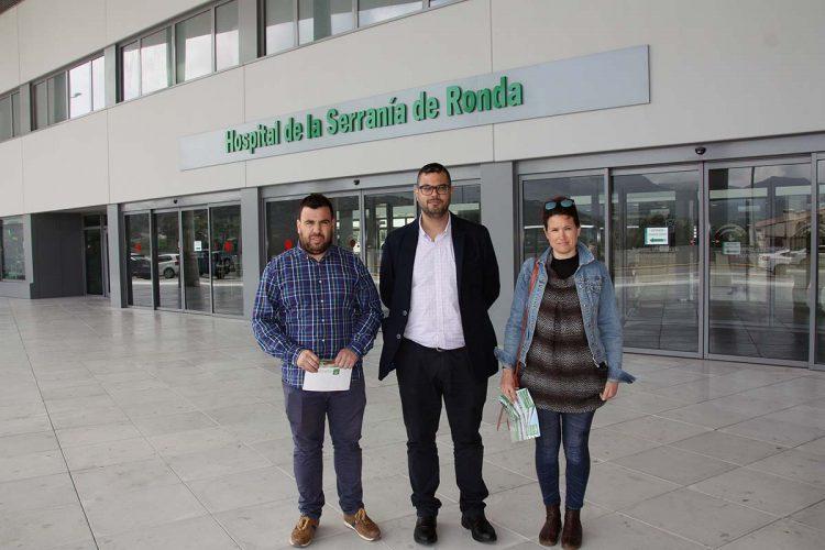 Podemos Andalucía reclama más médicos especialistas para el Hospital de Ronda