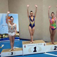 Las deportistas del Club AGRA logran un oro y dos platas en  IV Torneo de Gimnasia Rítmica Alhendín