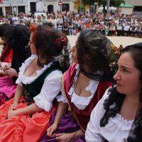 Día grande de Ronda Romántica: mucho público pero pocos rondeños y serranos vestidos con trajes de época