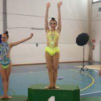 Las gimnastas del Club AGRA de Ronda y del Club Arriateño logran numerosos podios en el Torneo Cártama-Club Costasol
