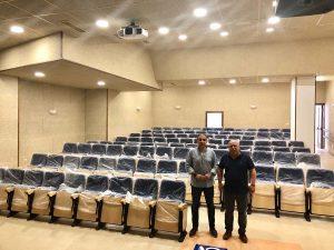 Instalaciones del auditorio de Montejaque.