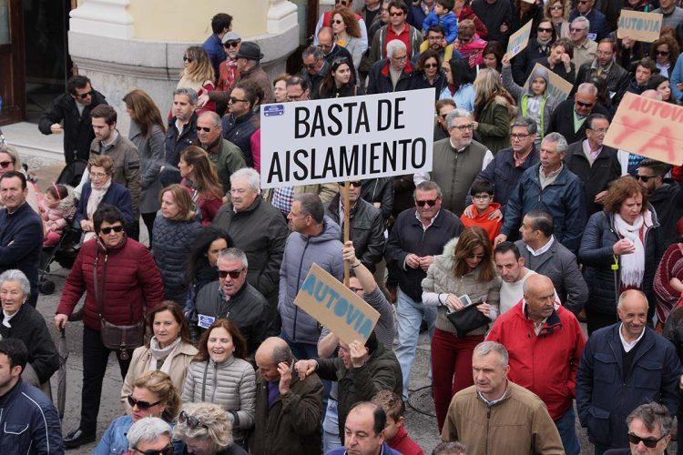PSOE y Podemos votan en el Parlamento andaluz en contra de que Ronda tenga autovía