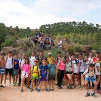 Los karatecas del Club Bushido mantienen una jornada de convivencia en los parajes de El Burgo