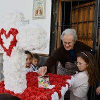 Parauta vivió las cruces de mayo con un gran ambiente festivo