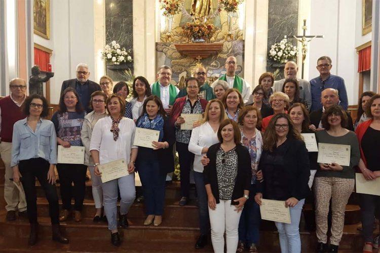 Clausura del curso de la Escuela de Formación Teológica con la entrega de los títulos a sus 25 alumnos