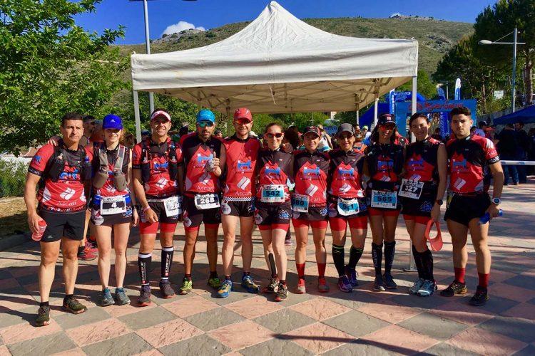 El Club Ascari-Harman Trail Running logra tres podios en la tradicional CxM de Alpandeire