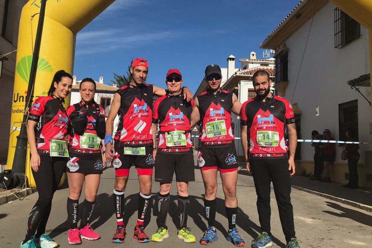 El Club Ascari-Harman Trail Running participó en competiciones en Casares, El Bierzo, Ronda, Almadén, Granada y Jerez